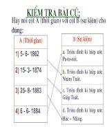 Bài giảng Lich su 8 - T40