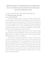 PHƯƠNG HƯỚNG VÀ GIẢI PHÁP NÂNG CAO HIỆU QUẢ ĐẦU TƯ XÂY DỰNG CƠ BẢN NGUỒN VỐN NGÂN SÁCH TẬP TRUNG TỈNH BẮC NINH