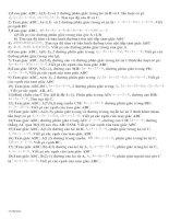 Bài soạn Chuyên đề: Phân giác và các vđề lquan