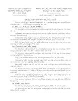Bài soạn KH thang 11/2010