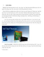 Tìm hiểu vi xử lý Intel xeon 6000 báo cáo chi tiết
