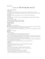 Bài giảng tập làm văn 9 bai viết số 5-mới