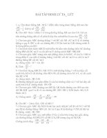 Bài soạn bài tập về định lý ta lét