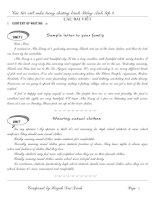 Bài soạn Luyện tập AV9 (Famous) Tập 16