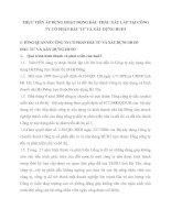 THỰC TIỄN ÁP DỤNG HOẠT ĐỘNG ĐẤU THẦU XÂY LẮP TẠI CÔNG TY CỔ PHẦN ĐẦU TƯ VÀ XÂY DỰNG HUD3