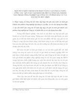 MỘT SỐ Ý KIẾN NHẰM GÓP PHẦN NÂNG CAO CHẤT LƯỢNG CÔNG TÁC  KẾ TOÁN TẬP HỢP CHI PHÍ VÀ TÍNH GIÁ THÀNH SẢN PHẨM CÔNG NGHIỆP TẠI CÔNG TY CỔ PHẦN ĐẦU TƯ VÀ XÂY DỰNG BƯU ĐIỆN
