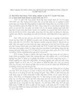 THỰC TRẠNG TỔ CHỨC CÔNG TÁC KẾ TOÁN TẠI VĂN PHÒNG TỔNG CÔNG TY CÀ PHÊ VIỆT NAM