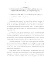 NHỮNG VẤN ĐỀ LÝ LUẬN VỀ ĐÔ THỊ ĐÔ THỊ HÓA VÀ PHƯƠNG PHÁP ĐÁNH GIÁ MỨC ĐỘ ĐÔ THỊ HÓA