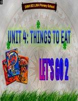 Bài giảng let''''s go 2 - unit 4