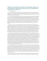 TÌM HIỂU VỀ NGÂN HÀNG TRUNG ƯƠNG TRONG LỊCH SỬ VÀ QUAN ĐIỂM VỀ MỐI QUAN HỆ GIỮA NẠN THẤT NGHIỆP VỚI LƯỢNG TIỀN CUNG ỨNG