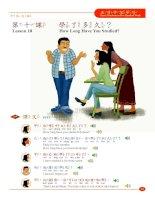 Lesson 10_Speak Mandarin in Five Hundred Words English version