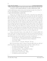 THỰC TRẠNG HẠCH TOÁN KẾ TOÁN TIÊU THỤ SẢN PHẨM TẠI CÔNG TY DUNG DỊCH KHOAN VÀ HOÁ PHẨM DẦU KHÍ