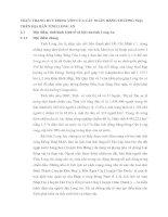 THỰC TRẠNG HUY ĐỘNG VỐN CỦA CÁC NGÂN HÀNG THƯƠNG MẠI TRÊN ĐỊA BÀN TỈNH LONG AN