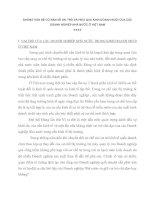 NHỮNG VẤN ĐỀ CƠ BẢN VỀ VAI TRÒ VÀ HIỆU QUẢ KINH DOANH MUỐI CỦA CÁC DOANH NGHIỆP NHÀ NƯỚC Ở VIỆT NAM