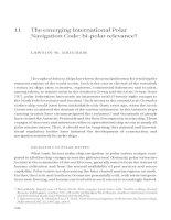 The emerging International Polar Navigation Code bi-polar relevance