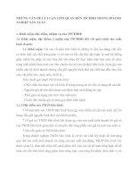NHỮNG VẤN ĐỀ LÝ LUẬN LIÊN QUAN ĐẾN TSCĐHH TRONG DOANH NGHIỆP SẢN XUẤT