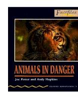 Animals in danger factfiles