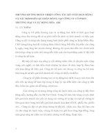 PHƯƠNG HƯỚNG HOÀN THIỆN CÔNG TÁC KẾ TOÁN BÁN HÀNG VÀ XÁC ĐỊNH KẾT QUẢ BÁN HÀNG TẠI CÔNG TY CỔ PHẦN THƯƠNG MẠI VÀ TỰ ĐỘNG HÓA  ADI