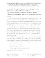 THỰC TRẠNG CÔNG TÁC BÁN HÀNG VÀ XÁC ĐỊNH KẾT QUẢ BÁN HÀNG TẠI XÍ NGHIỆP ÔTÔ THƯƠNG MẠI NGHỆ AN