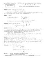 Bài soạn Đề 2- thi thử đại học- Lời giải chi tiết