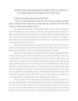 MỘT SỐ GIẢI PHÁP NHẰM HOÀN THIỆN CÔNG TÁC QUẢN LÝ TÀI CHÍNH TRONG NGÀNH KIỂM SÁT NHÂN DÂN
