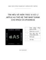 Tìm hiểu vi xử lý apple a5