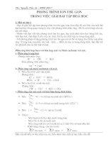 Bài soạn ap dung phuong trinh ion thu gon vao BT