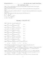 Gián án Bài tập Hóa Học 10