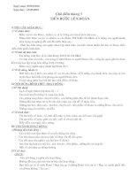 Bài soạn GIAO AN HDNGLL 8 TIEN BUOC LEN DOAN