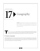 The GED Social Studies Exam - Geography