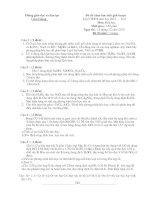 Gián án Đề thi chọn học sinh giỏi hóa lớp 9 huyện Cẩm Giàng năm 2010-2011.doc