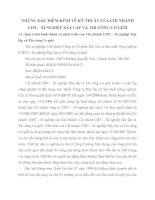 NHỮNG ĐẶC ĐIỂM KINH TẾ KỸ THUẬT CỦA CHI NHÁNH CIPC   XÍ NGHIỆP XÂY LẮP VÀ THI CÔNG CƠ GIỚI