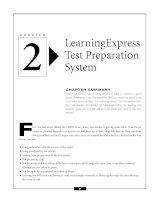 LearningExpress Test Preparation System