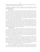 HOÀN THIỆN NỘI DUNG CÔNG TÁC LẬP DỰ TOÁN VÀ BÁO CÁO CHI PHÍ TẠI CÔNG TY DỆT MAY 29-3
