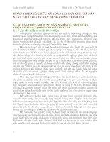 HOÀN THIỆN TỔ CHỨC KẾ TOÁN TẬP HỢP CHI PHÍ  SẢN XUẤT TẠI CÔNG TY XÂY DỰNG CÔNG TRÌNH T54