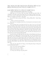 THỰC TRẠNG TỔ CHỨC HẠCH TOÁN VỐN BẰNG TIỀN VÀ CÁC KHOẢN THANH TOÁN TẠI CÔNG TY CƠ KHÍ Ô TÔ 3-2