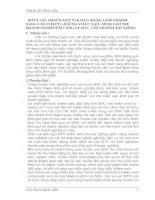 MỘT SỐ NHẬN XÉT Ý KIẾN ĐÓNG GÓP NHẰM NÂNG CAO CHẤT LƯỢNG VIỆC XÁC ĐỊNH GIÁ TRỊ DOANH NGHIỆP Ở CÔNG TY AISC  CHI NHÁNH ĐÀ NẴNG