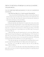 NHỮNG VẤN ĐỀ CHUNG VỀ BHTNDS CỦA CHỦ XE CƠ GIỚI ĐỐI VỚI NGƯỜI THỨ BA.
