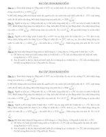 Bài soạn bài tập tham khảo vật lý -8-9
