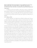 HOÀN THIỆN KẾ TOÁN XUẤT KHẨU VÀ XÁC ĐỊNH KẾT QUẢ XUẤT KHẨU HÀNG HÓA TẠI TỔNG CÔNG TY THƯƠNG MẠI HÀ NỘI
