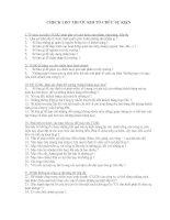 Check list trước khi tổ chức sự kiện