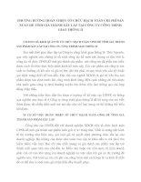 PHƯƠNG HƯỚNG HOÀN THIỆN TỔ CHỨC HẠCH TOÁN CHI PHÍ SẢN XUẤT ĐỂ TÍNH GIÁ THÀNH XÂY LẮP TẠI CÔNG TY CÔNG TRÌNH GIAO THÔNG II