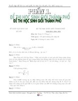 Đề ôn thi vào 10 chuyên toán