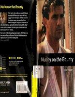 Mutiny on the bounty bộ sách tiếng anh dùng để học từ vựng