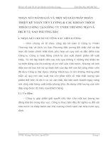 NHẬN XÉT ĐÁNH GIÁ VÀ MỘT SỐ GIẢI PHÁP HOÀN THIỆN KẾ TOÁN TIỀN LƯƠNG & CÁC KHOẢN TRÍCH THEO LƯƠNG TẠI CÔNG TY TNHH THƯƠNG MẠI VÀ DỊCH VỤ SAO PHƯƠNG BẮC