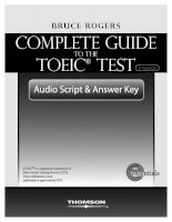 Complete guide to toeic test part 1
