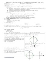 Bài giảng Giao an Toan 11 co ban chuong1