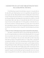 GIẢI PHÁP CÔNG TÁC LẬP VÀ THỰC HIỆN QUY HOẠCH SỬ DỤNG ĐẤT CẤP ĐỊA PHƯƠNG  NÓI CHUNG