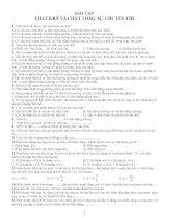 Tài liệu Bài tập Chất rắn - chất lỏng - sự chuyển thể