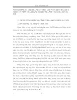 PHƯƠNG HƯỚNG VÀ GIẢI PHÁP TÀI CHÍNH GÓP PHẦN THÚC ĐẨY QUÁ TRÌNH CỔ PHẦN HÓA DOANH NGHIỆP NHÀ NƯỚC TRÊN ĐỊA BÀN HÀ NỘI